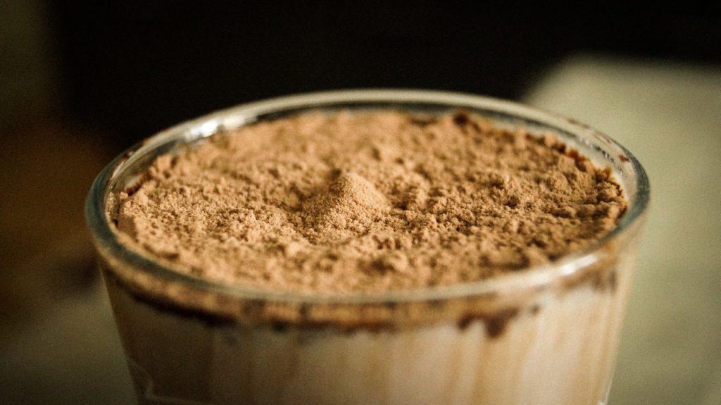 Chokladprotein är gott