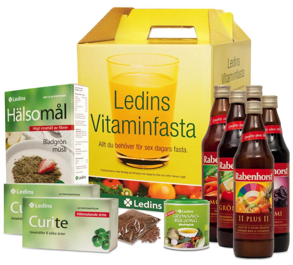 Ledins Vitaminfasta paket med innehåll